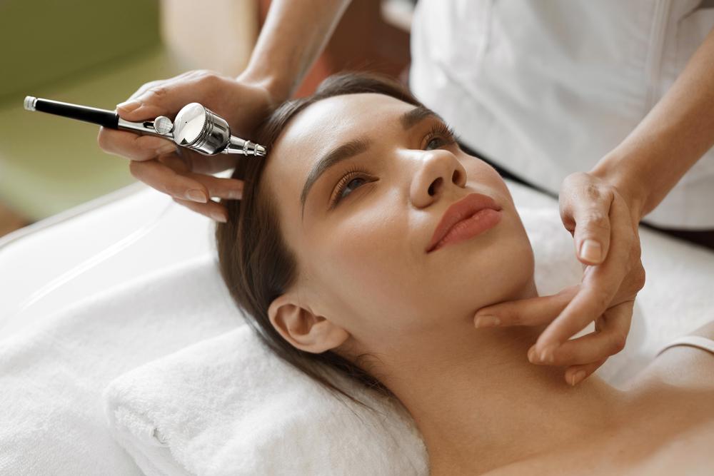 Oxiabrasión tratamiento de belleza